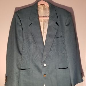 Vintage Green Dior Mens Sport Coat